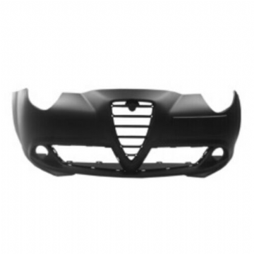 ALFA ROMEO MITO 2009-2016 FRONT BUMPER PRIMED WITH TOW EYE COVER HIGH QUALITY